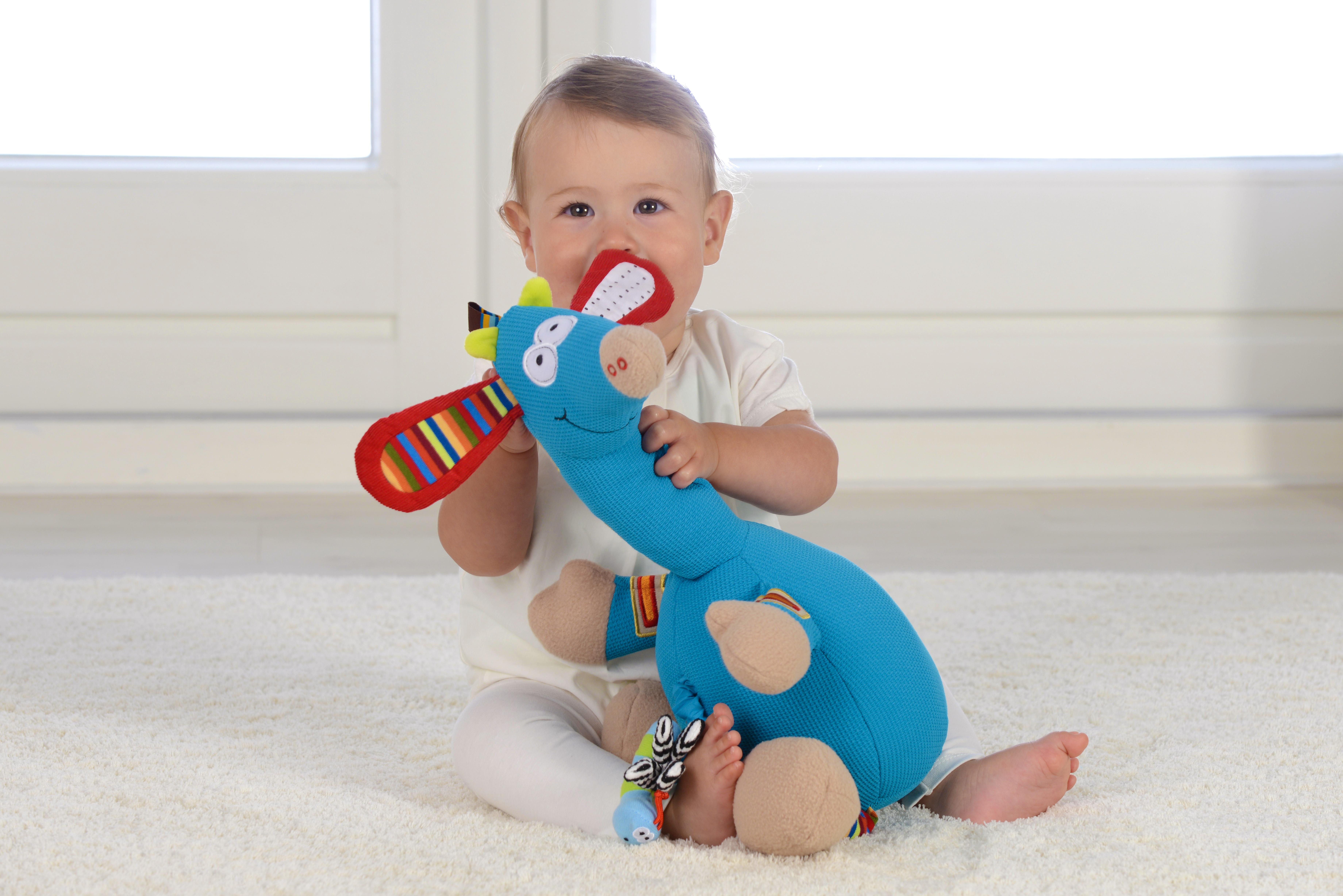 Girafă muzicală, jucărie senzorială 2