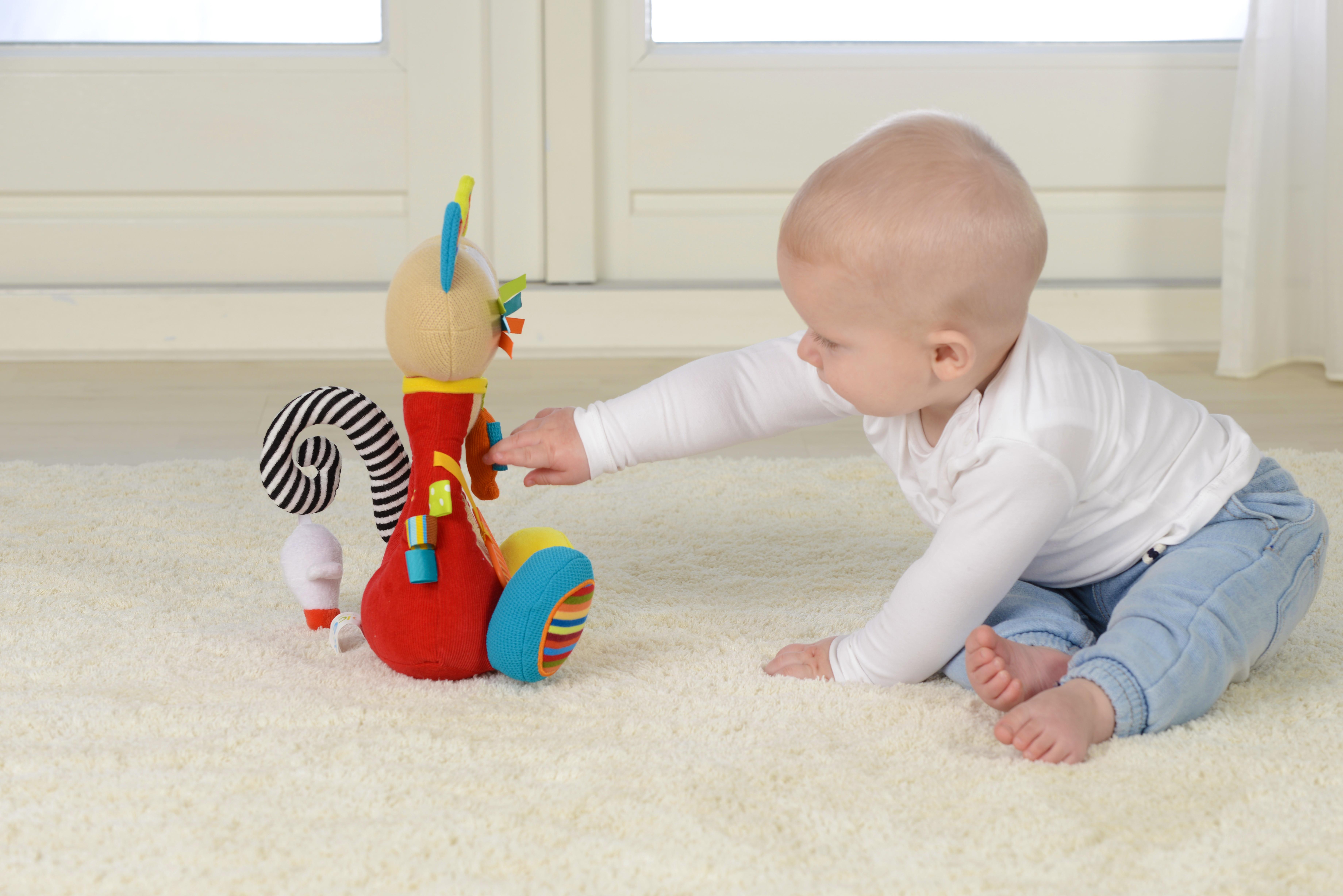 Pisică siameză, jucărie senzorială 2