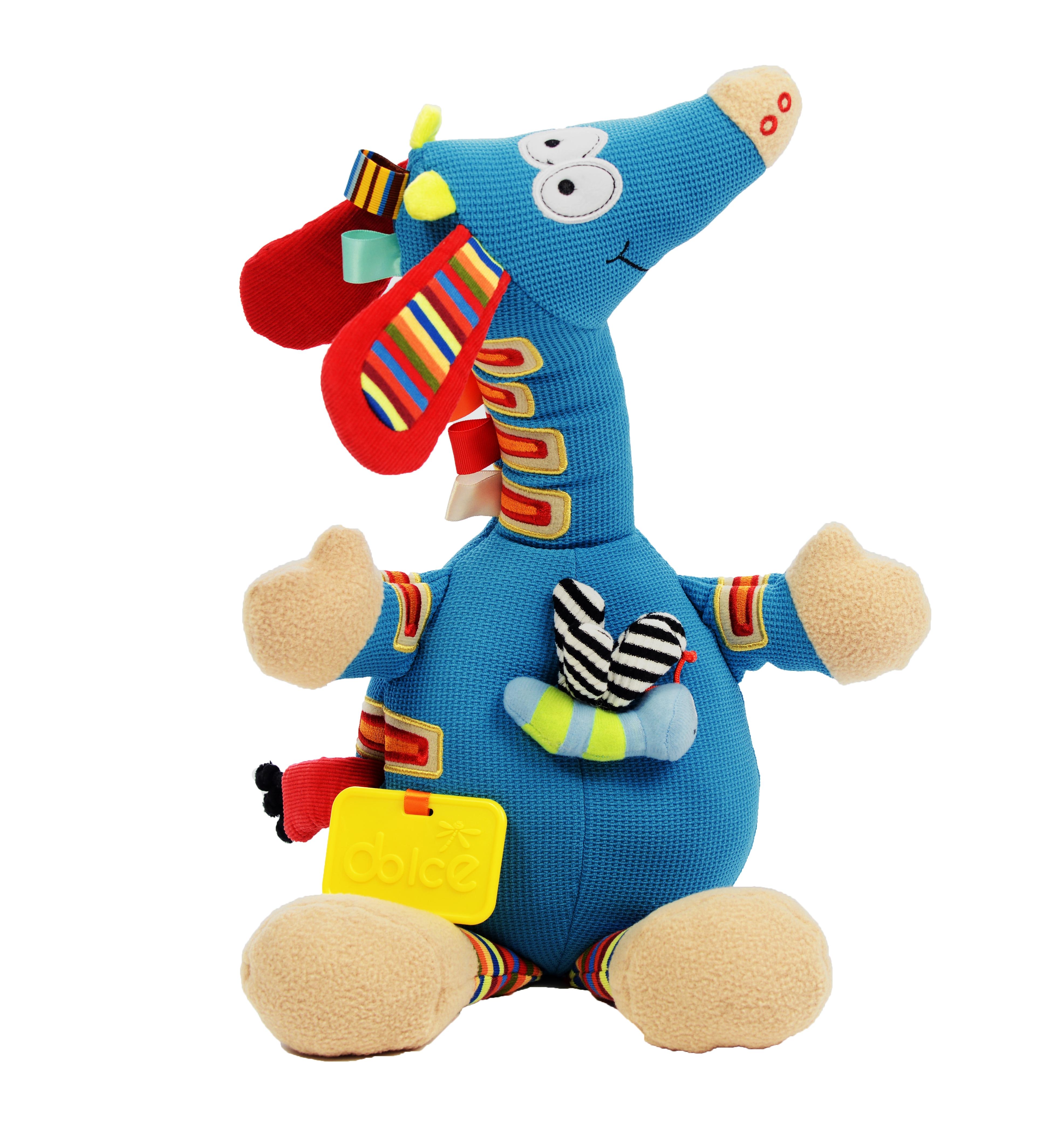 Girafă muzicală, jucărie senzorială 0